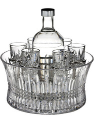 Waterford Crystal Lismore Diamond Vodka Set of 6 Shot Glasses