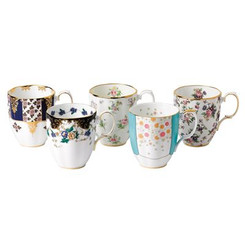 Royal Albert - 100 Years  Mug 5Pce Set 1900-40's