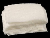 "Butch's ""Triple Twill"" Cleaning Patches 1-1/2"" Sq.-6mm Bench Rest (Bag-1000)"