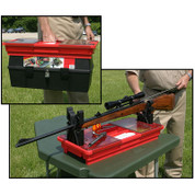 MTM Portable Rifle Maintenance & Cleaning Center   Red
