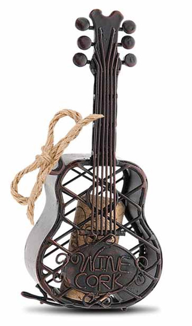 Cork Cage Guitar Ornament