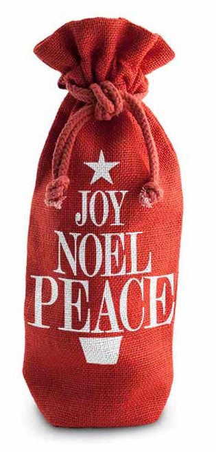 Wine Gift Bag - Joy Noel Peace