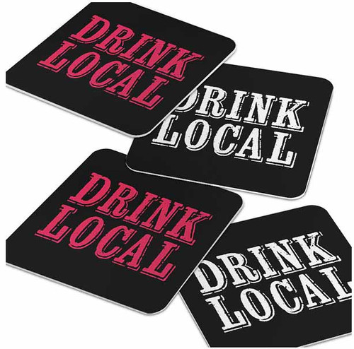 Coasters - Drink Local