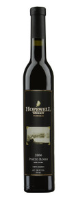 A bottle of Porto Rosso Red Port wine produced by Hopewell Valley Vineyards - one of many New Jersey wineries