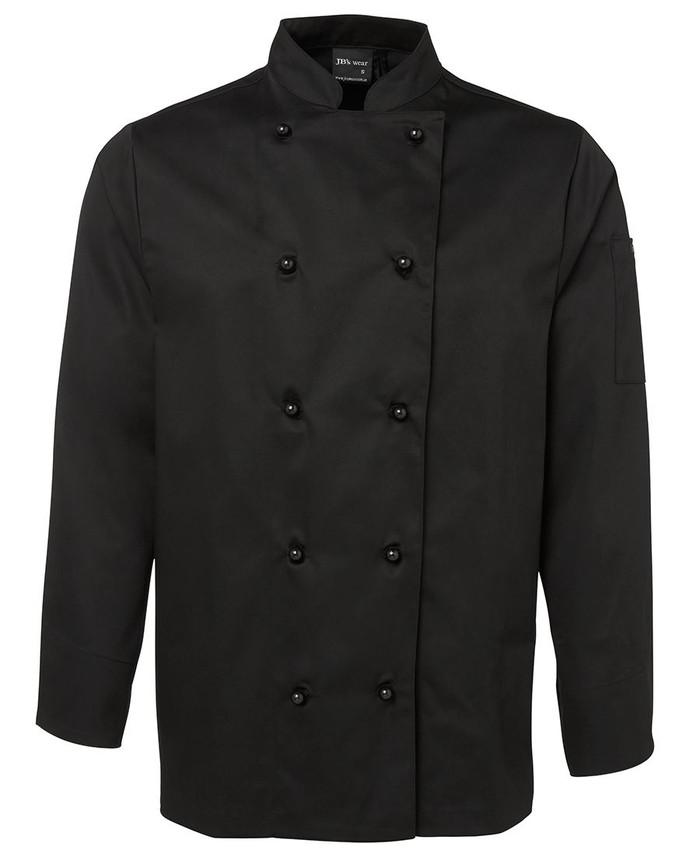 Chefs L/S Jacket - Black