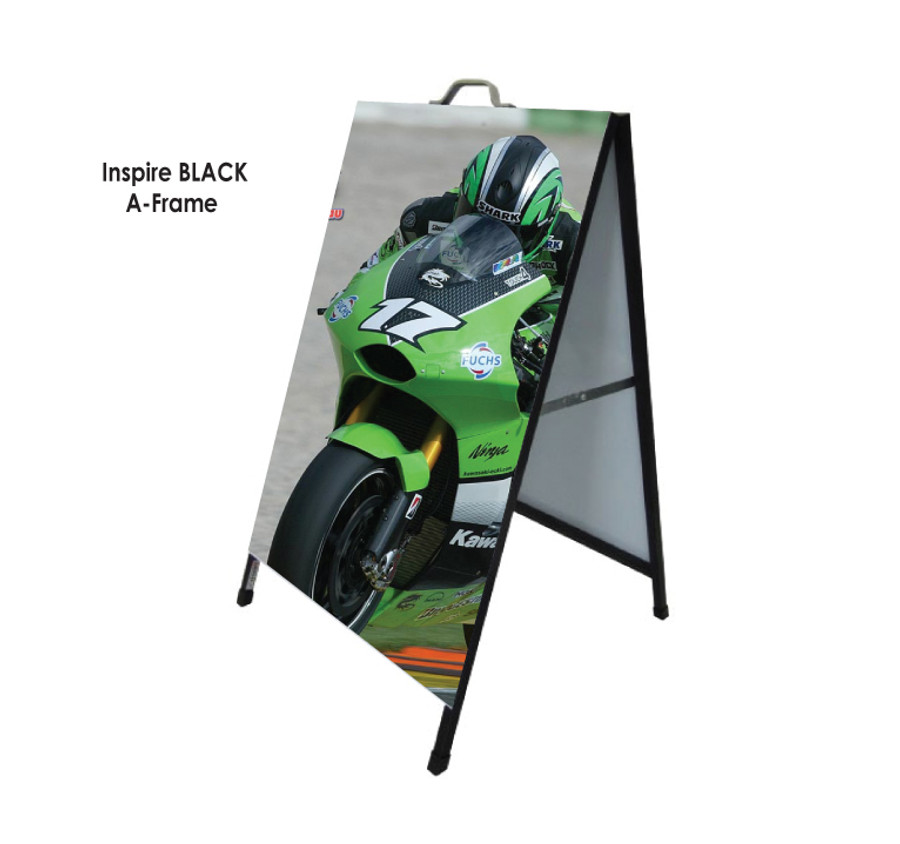 Inspire Black A-Frame