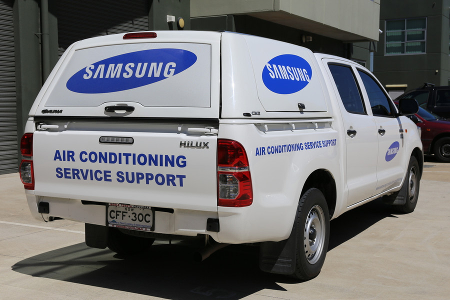 Samsung Ute with High Quality Cast Vinyl