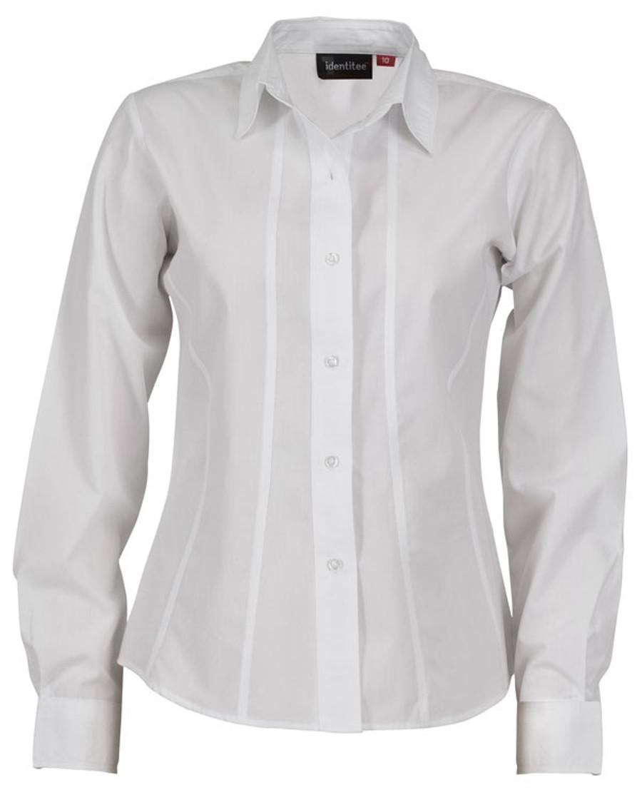 Ladies L/S Aston - White