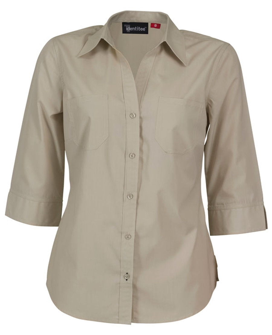 Ladies Harley Business Shirt - Sand