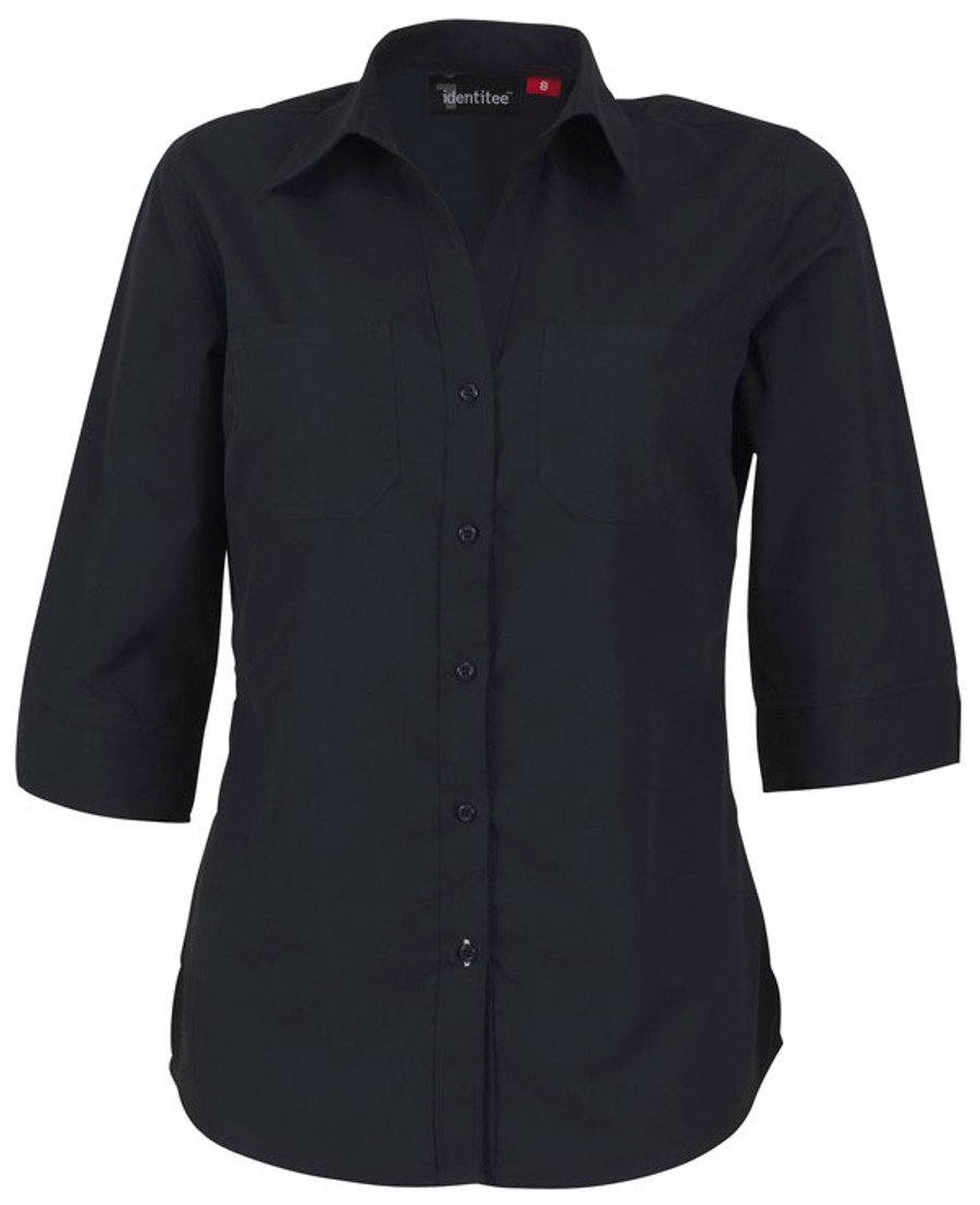 Ladies Harley Business Shirt - Ink