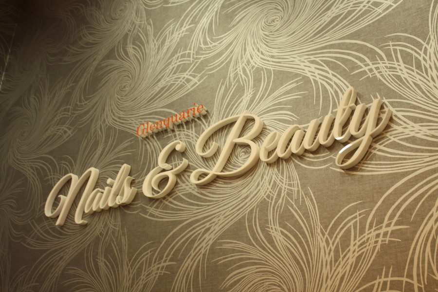 Nail & Beauty Foyer 3D Signage