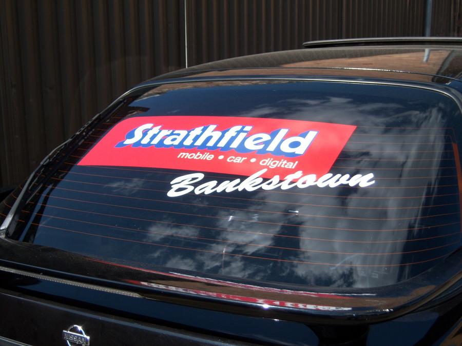 Strathfield Window Vehicle Decal