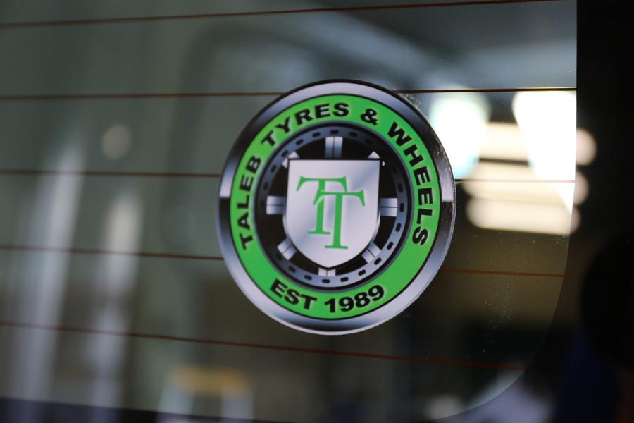 Taleb Vehicle Round Decals