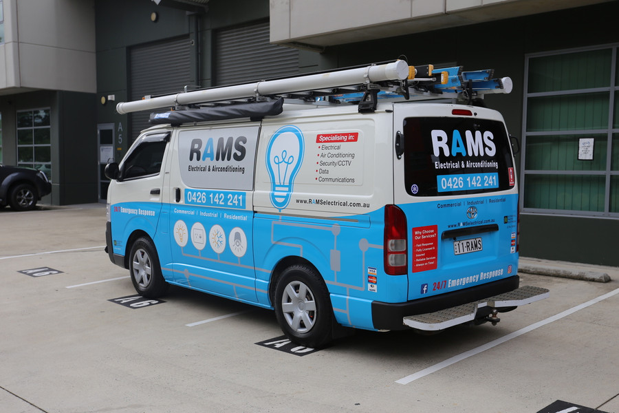 Vehicle Wrap - Van 1/2 Wrap