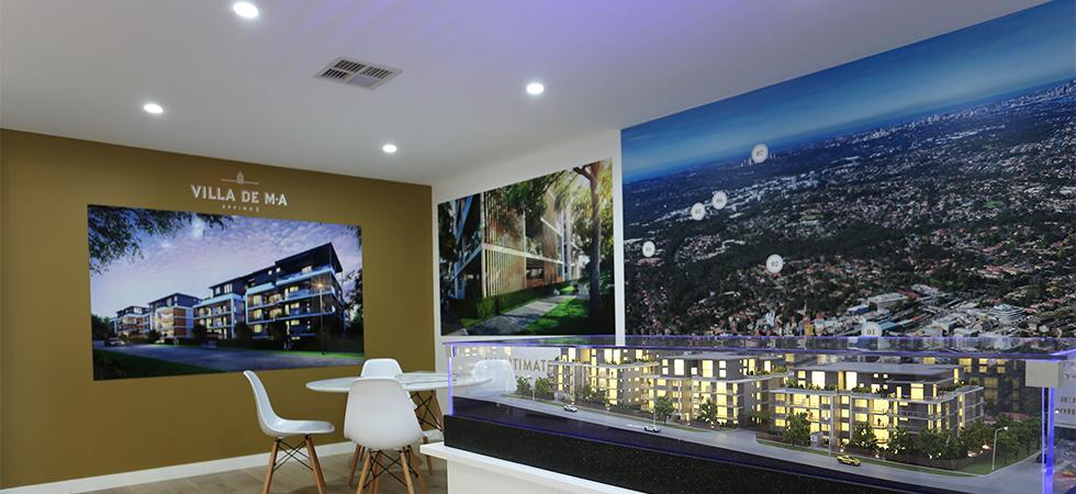 Display Room Graphics