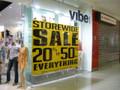 Vibe Storewide Sale Sticker