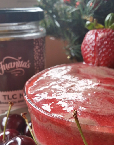 Juanitas very berry smoothie