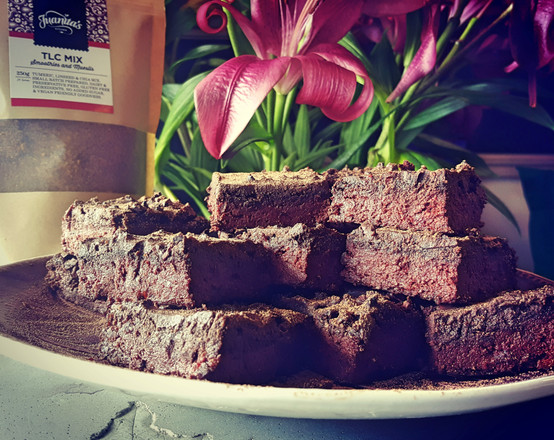 Easy Vegan Chocolate and Beetroot Brownie