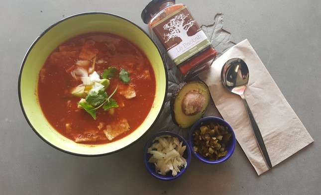 Mexican style tomato soup (5 min speedy version)