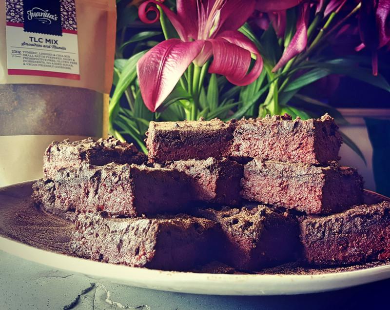 Easy Vegan Chocolate and Beetroot Brownie
