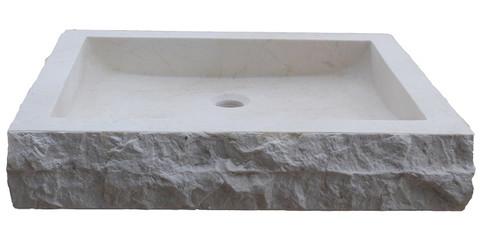 beige marble - Stone Vessel Sinks