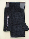 C5 Corvette Lloyds Floor Mats with Sideways Logo