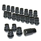 Wheel Lug Nuts & Locks (Black)