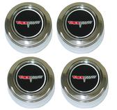 1980-1981 Corvette Aluminum Wheel Center Caps