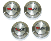 1982 Corvette Aluminum Wheel Center Caps
