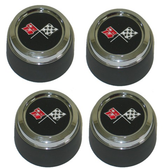 1976-1979 Corvette Aluminum Wheel Center Caps