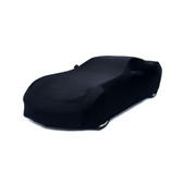 C7 Corvette Car Cover Black Super Stretch Indoor