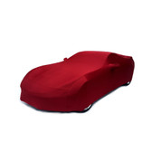 C7 Corvette Car Cover Crystal Red Super Stretch Indoor