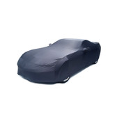 C7 Corvette Car Cover Shark Gray Super Stretch Indoor