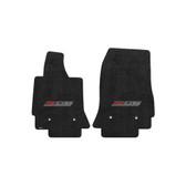 2014 C7 Corvette Z06 Floor Mats - Lloyds Mats Jet/Black with Z06 Supercharged Logo