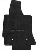 "1 ""C7 LLYODS ULTIMAT FRONT GRANDSPORT SINGLE LOGO  JET BLACK FLOOR MATS"""