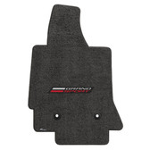 "3 ""C7 LLYODS ULTIMAT FRONT GRANDSPORT SINGLE LOGO DARK GREY FLOOR MATS"""