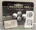 Kuryakyn # K8110 Chrome Rocker Box Nut Covers for H-D Evo NOS