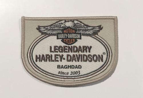 Legendary Harley-Davidson Bagdad pacth