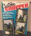 Custom Chopper  Magazine December 1972