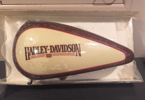 NOS HARLEY-DAVIDSON 1987 Heritage Softail Brown & Cream Left Side Gas tank #62018-87 NEW IN SHRINKWRAP!!