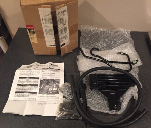 NOS HARLEY-DAVIDSON DYNA/FXR OIL COOLER KIT 92-LATER #62871-99 (OPEN BOX)