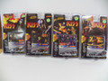 NEW still sealed KISS racing cars. You get Gene,Paul,Ace & Peter themed cars. All four for one price.