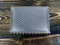 """Jamah brown leather lightweight card wallet """"The Alias"""" (preowned)"""