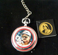 Dale Earnhardt Collector Pocket Watch & Case by The Franklin Mint...NIB