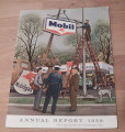 Original 1956 Mobil Annual Report of the Socony Mobil Oil Company