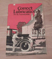 "Original 1924 ""Correct Lubrication for your Automobile"" by Vacuum Oil Company Mobiloil booklet"