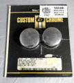 Custom Chrome 14-314 Chrome Rear Axle Cap Kit 57-80 Sportster,73-80 4 -speed Fl & FX, 81 FXWG NOS
