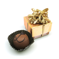 Golden Chocolate Candy Delight New Year Holiday Gift Valentines Day