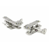 Vintage Airplane Cufflinks Gift Fun Gift Unisex