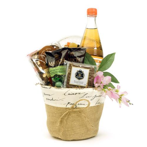 A Purim Greetings Kosher Gift Basket